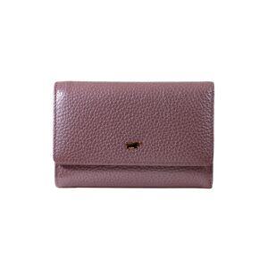 Braun Büffel Geldbörse »ASCOLI«, aus genarbtem Rindleder, lila