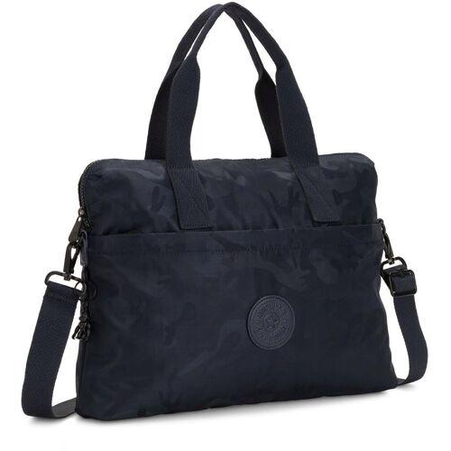 KIPLING Laptoptasche »Elsil, Satin Camo Blue«