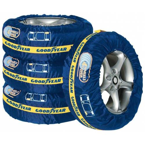 Goodyear Reifentasche (Set), 4 Stück, für Reifen bis 17 Zoll