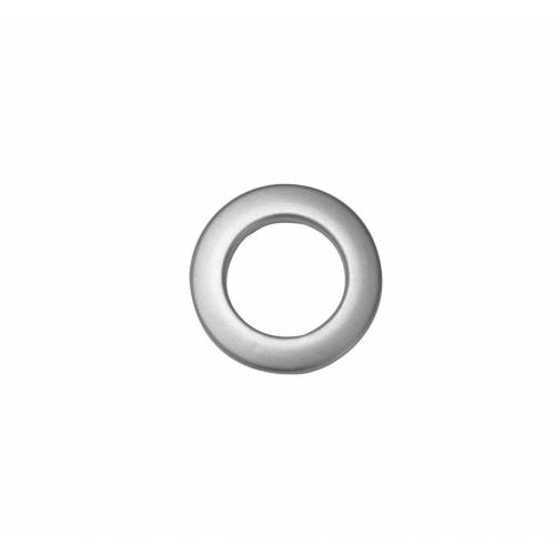 GARDINIA Gardinenring »Stoffösen klein silber-matt 4,6 / 2,8«,