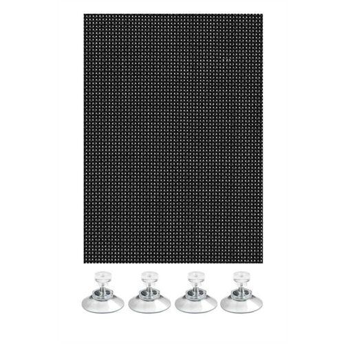 GARDINIA Gardinenstange »Flexibler Sonnenschutz schwarz 40 x 80«,