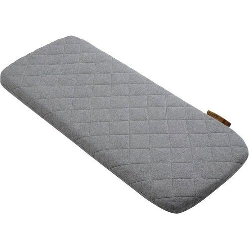bugaboo Kinderwagenaufsatz »Woll-Matratzenbezug, grau meliert«