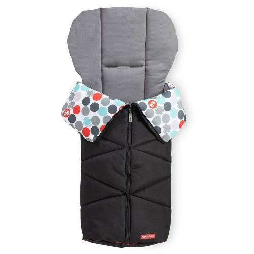 Fisher Price »Black«, Winter - Fußsack Baby für Buggy und Kinderwagen