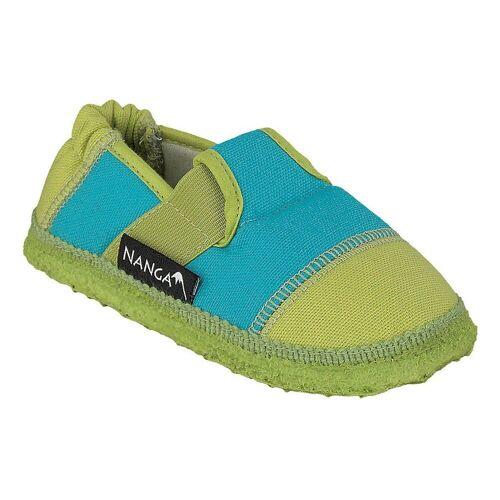 NANGA »Kinder Hausschuhe« Hausschuh, grün