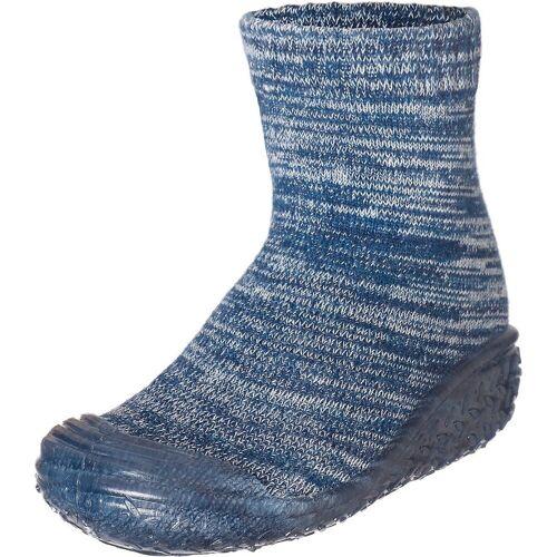 Playshoes »Kinder Strickhausschuhe« Hausschuh, blau