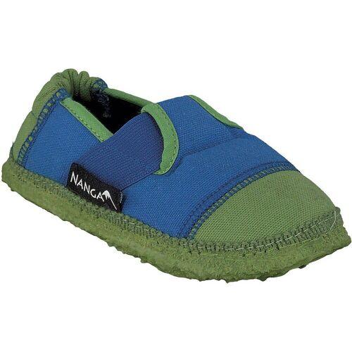 NANGA »Kinder Hausschuhe« Hausschuh, blau