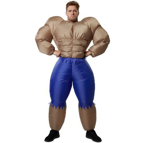 tectake Kostüm »Aufblasbares Kostüm Bodybuilder«
