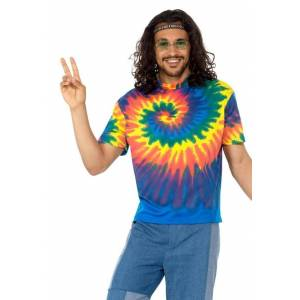 Smiffys Kostüm »Hippie Hugo T-Shirt«