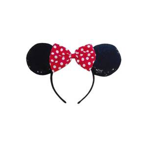 Rubie´s Kostüm »Haarreif Minnie Mouse Ohren rot«