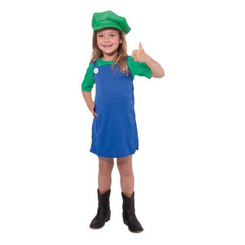Folat Kostüm »Kostüm Super Klempner Mädchen grün«