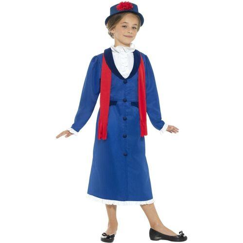 Smiffys Kostüm »Flora Viktorianische Nanny Kinderkostüm«