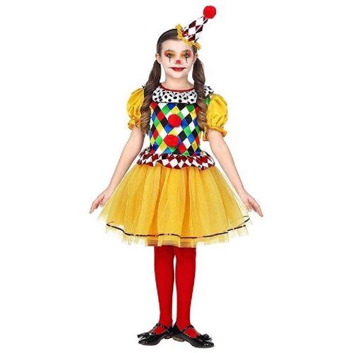 Widmann Kostüm »Zuckersüßes Clowns Mädchen Kostüm«