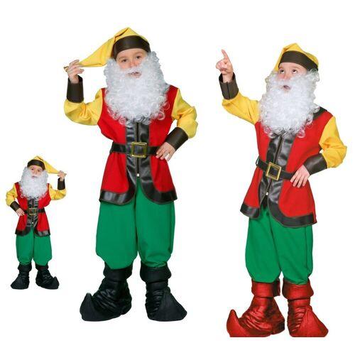 Wilbers Kostüm »Zwergenkostüm Kinder Mini-Zwerg 128- 164 cm - Gnom Wichtel Zwerge«