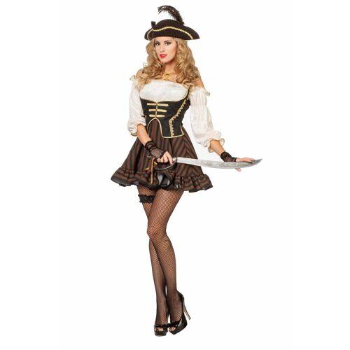 Wilbers Monster-Kostüm »Piratin Seeräuberin 36 - 56 Damenkostüm Piratin-Kleid«