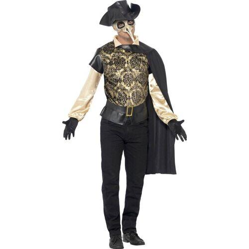 Smiffys Kostüm »Venezianisches Pest Doktor Kostüm«