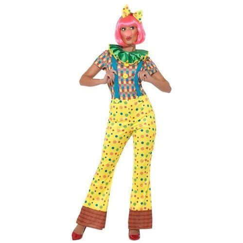 Smiffys Kostüm »Punktina Clowns Kostüm für Damen«