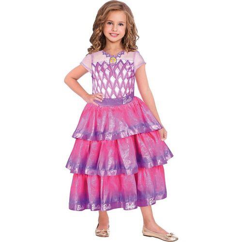 Amscan Kostüm »Kostüm Barbie Edelstein Ballkleid, 1-tlg.«