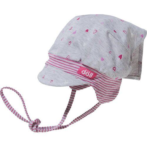 Döll Kopftuch »Baby Kopftuchmütze mit Schirm für Mädchen«
