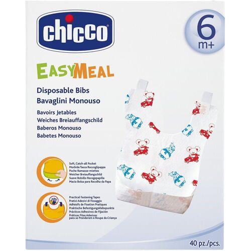 """Chicco Lätzchen »Lätzchen """"Easy Meal"""", Einweg, 40 Stk.«"""