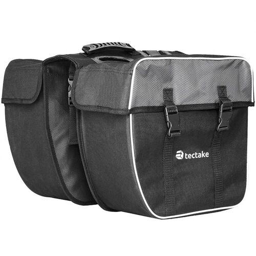 tectake Fahrradtasche »Fahrradtasche mit Gepäckträger-Befestigung und«