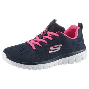 Skechers »Graceful - Get Connected« Sneaker mit Dämpfung durch Memory Foam, navy-pink