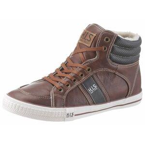 H.I.S Sneaker mit seitlicher Logoapplikation, braun