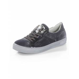 Alba Moda Sneaker aus Samt, grau