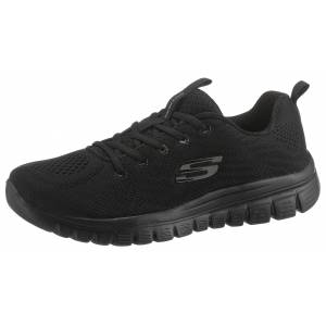 Skechers »Graceful - Get Connected« Sneaker mit Dämpfung durch Memory Foam, schwarz