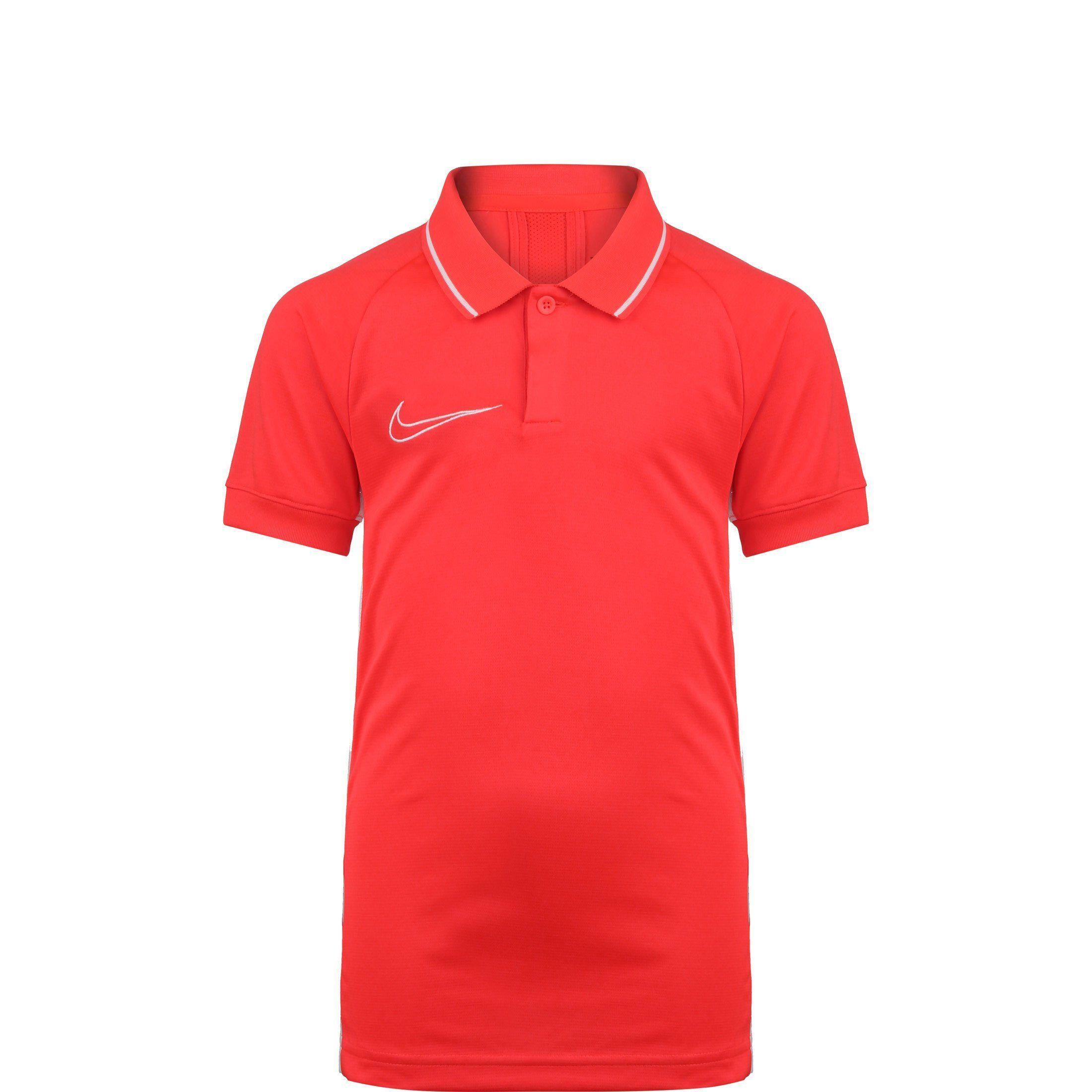 Nike Poloshirt »Dry Academy 19«, bright crimson / white