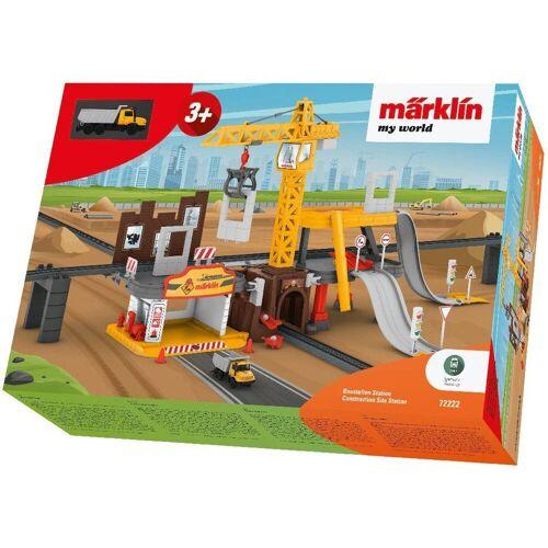 Märklin Modelleisenbahn-Baustelle »my world - Baustellen Station - 72222«, Spur H0