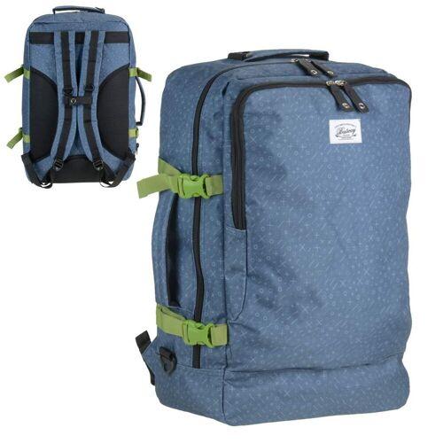 BESTWAY Reisetasche »Reiserucksack«, Reiserucksack, Rucksack, Bordgepäck-Maße, blau