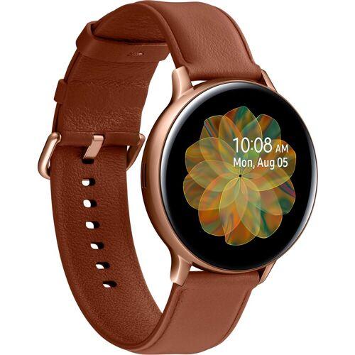 Samsung Galaxy Watch Active2 Edelstahl, 44 mm, Bluetooth (SM-R820) Smartwatch (3,4 cm/1,4 Zoll)