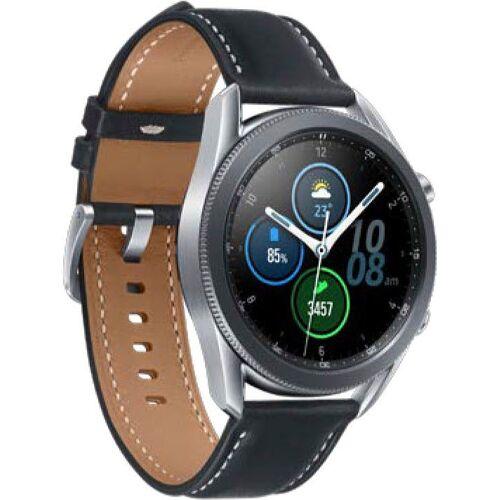 Samsung Galaxy Watch3, Edelstahl, 45 mm, (SM-R840) Smartwatch (3,4 cm/1,4 Zoll)
