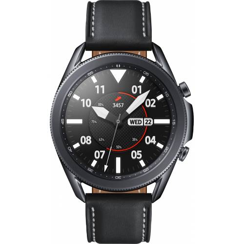 Samsung Galaxy Watch3, Edelstahl, 45 mm, Bluetooth (SM-R840) Smartwatch (3,4 cm/1,4 Zoll)