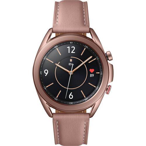 Samsung Galaxy Watch3, Edelstahl, 41 mm, LTE (SM-R855) Smartwatch (3 cm/1,2 Zoll), pink   Mystic Bronze