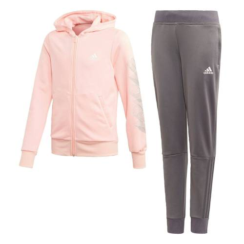 Adidas Performance Trainingsanzug »Hooded Polyester Trainingsanzug«