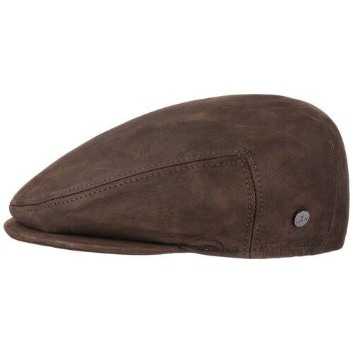 Lierys Flat Cap (1-St) Flatcap mit Schirm, braun