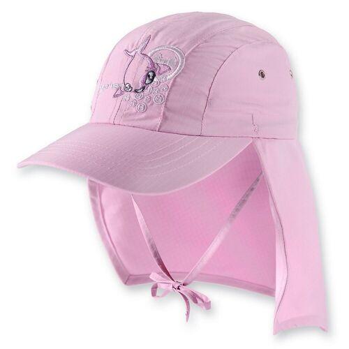 hyphen Sonnenhut »Kinder UV-Schutz Sonnenhut mit Nackenschutz«, rosa