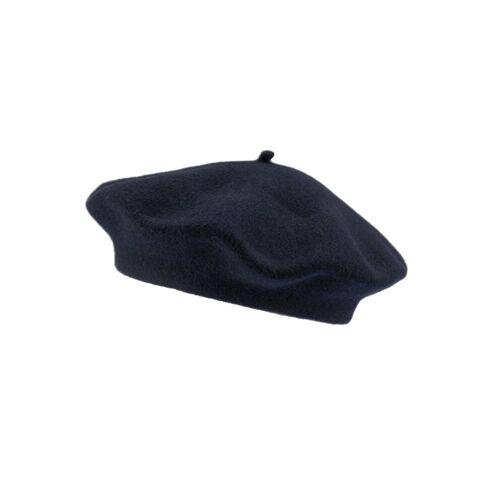 Loevenich Baskenmütze »Aus reiner Schurwolle«, Marine