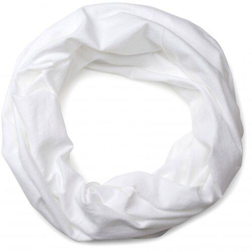 styleBREAKER Multifunktionstuch »Jersey Multifunktionstuch« Jersey Multifunktionstuch, Weiß