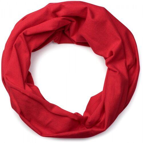 styleBREAKER Multifunktionstuch »Jersey Multifunktionstuch« Jersey Multifunktionstuch, Rot