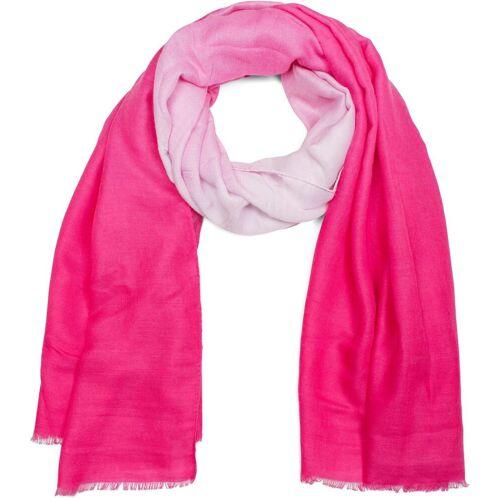 styleBREAKER Schal »Schal mit Hell-Dunkel Farbverlauf« Schal mit Hell-Dunkel Farbverlauf, Pink