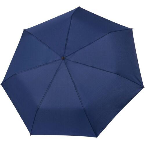 Tamaris Taschenregenschirm »Tambrella, blue«, mit Metallic-Elementen am Schirmdach
