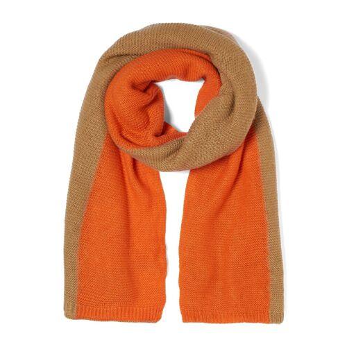TOM TAILOR Denim Modeschal »Zweifarbiger Schal«, beige