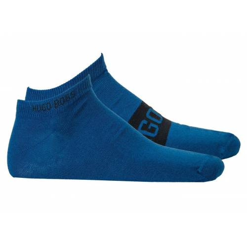 Boss Kurzsocken »Herren Socken 2er Pack - AS Logo CC, Kurzsocken,«, Blau