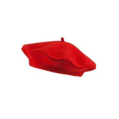 Loevenich Baskenmütze »Aus reiner Schurwolle«, Rot