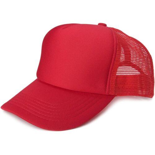 styleBREAKER Baseball Cap »5 Panel Mesh Cap« 5 Panel Mesh Cap, Rot