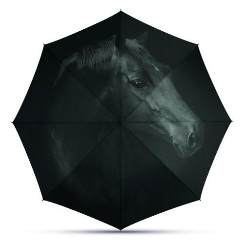 HTI-Line Stockregenschirm »Regenschirm Long AC«, Pferd