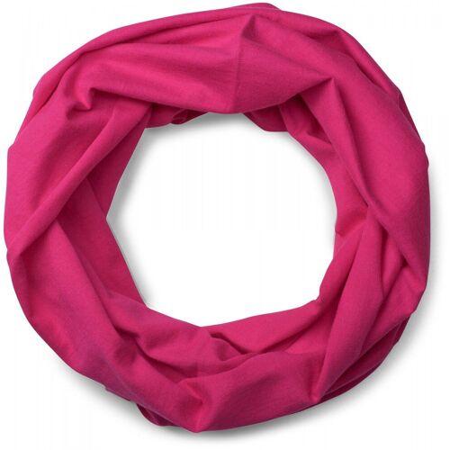 styleBREAKER Multifunktionstuch »Jersey Multifunktionstuch« Jersey Multifunktionstuch, Pink