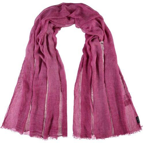 Fraas Modeschal »Viskosestola« aus reiner Viskose, pink